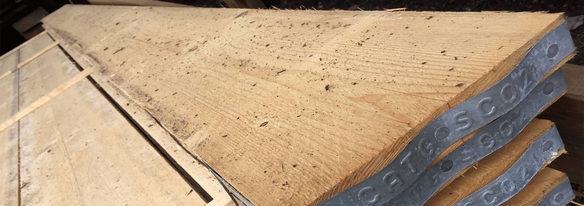 Scaffolding boards or planks